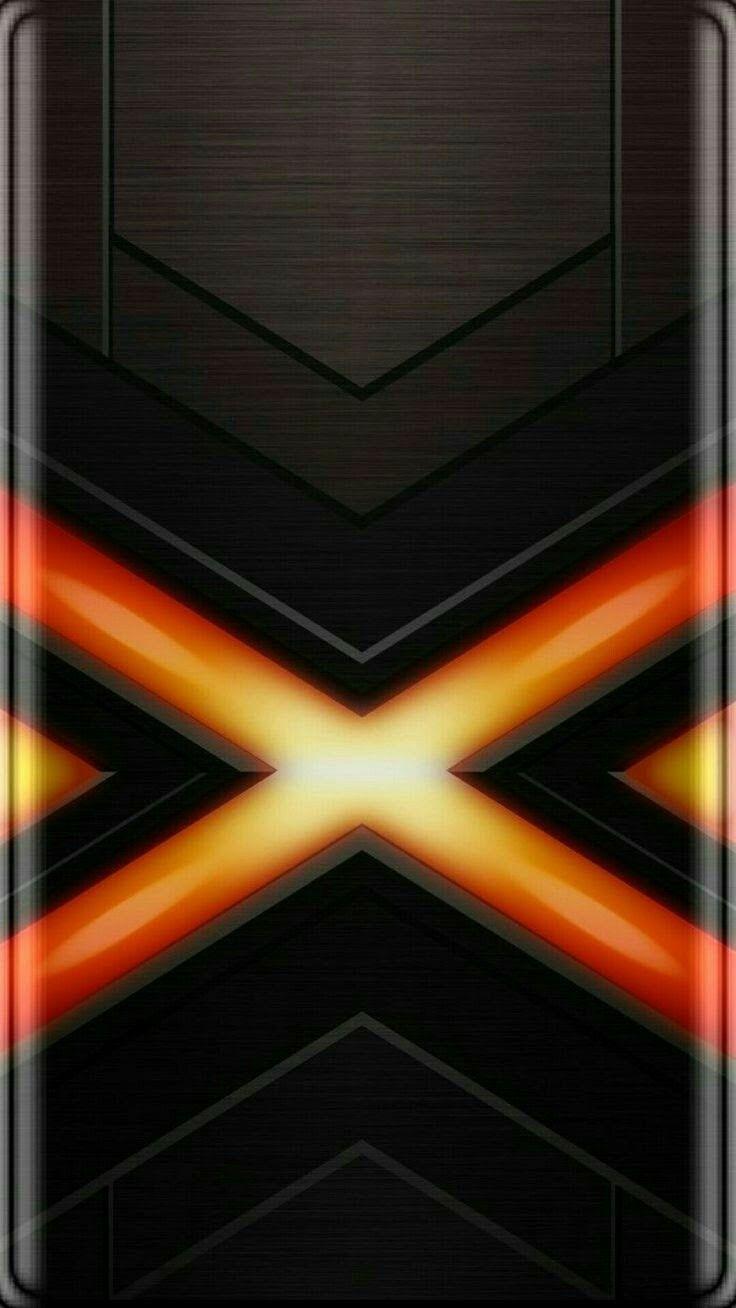 Black And Orange X Men Wallpaper Black Wallpapers Wallpaper