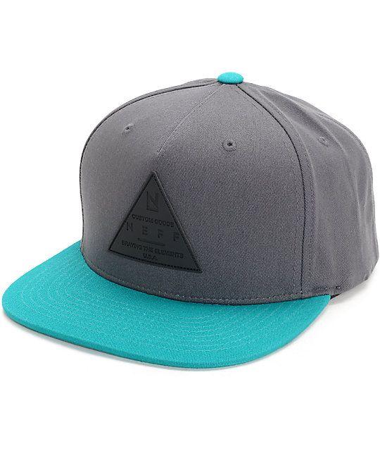 1d4b46a95 Neff X Cap Dark Teal Snapback Hat in 2019   Clothes   Snapback hats ...