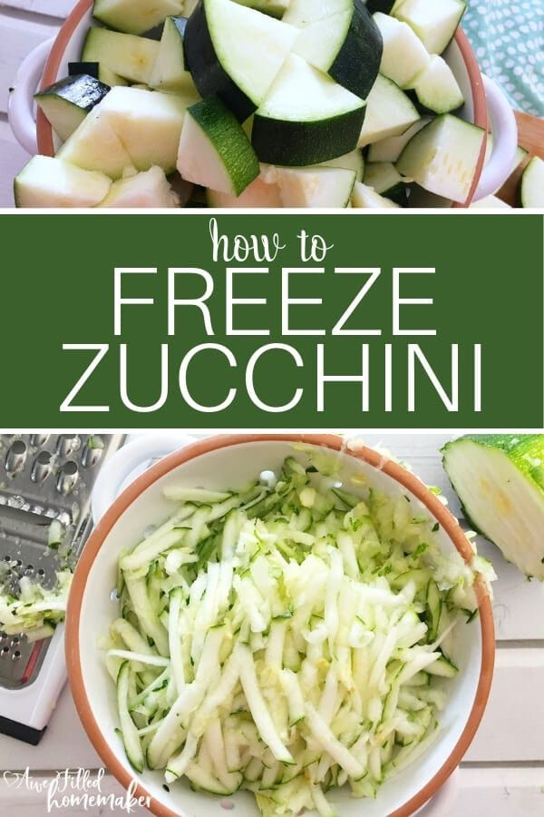 You found an amazing sale on zucchini or your garden has grown an abundance of this tasty vegetable So what do you do with it all Well simple Learn how to freeze zucchini...