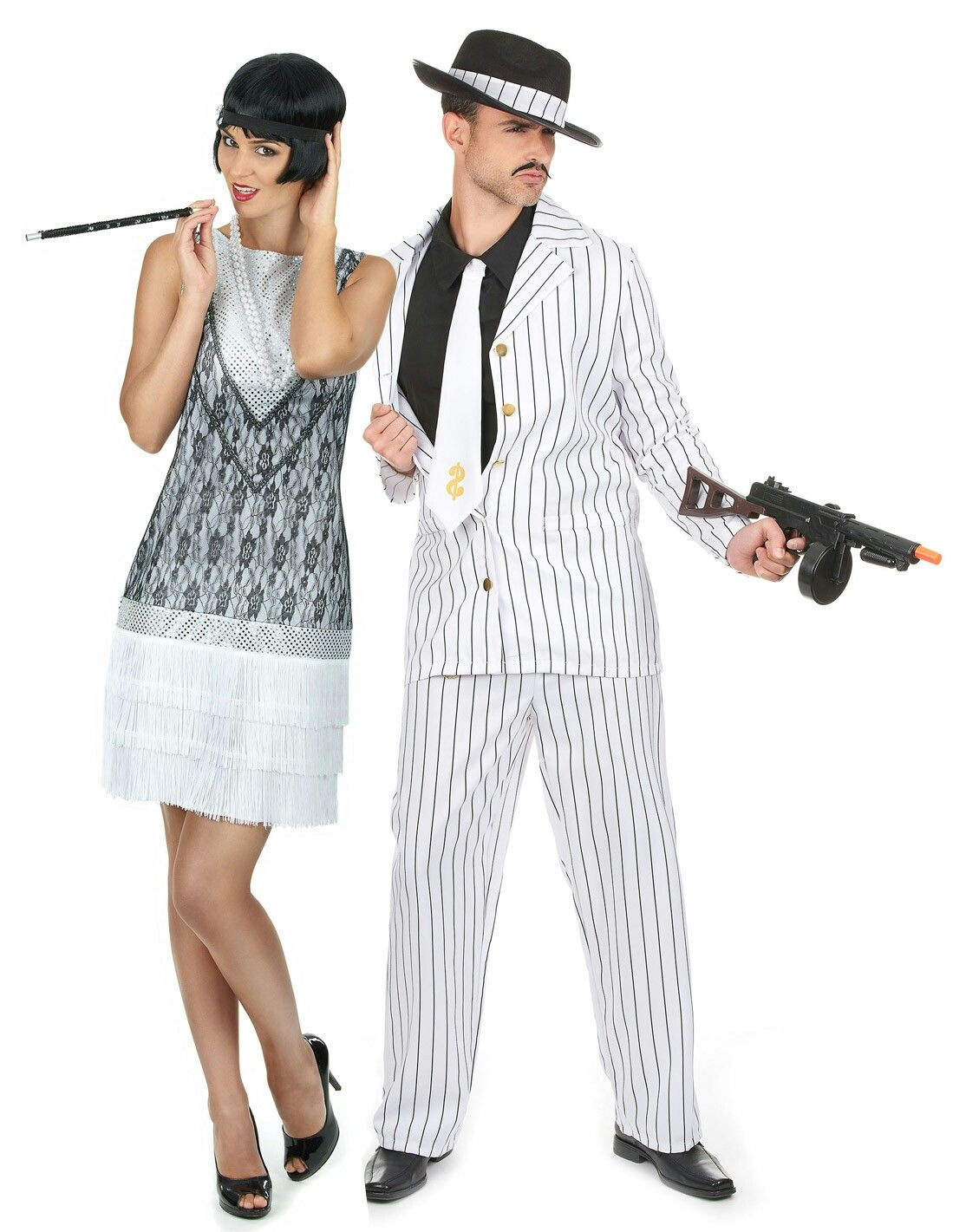 Pareja años 20, Charleston Disfraces parejas, Disfraces