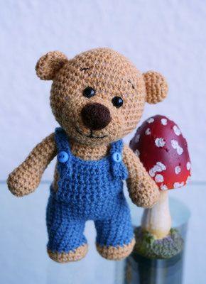 Amigurumi Teddy Bear Kleiner Schelm ;o) #crochetbearpatterns
