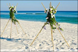 Sports & Celebrities: Beach wedding pictures-florida beach wedding