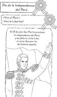 Abril 2013 Dibujos De La Independencia Independencia De Peru Dia De La Independencia