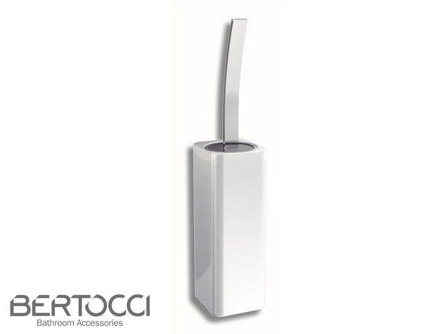 200 Porta Scopino A Parete Ceramica Bianco Ceramica Ceramica