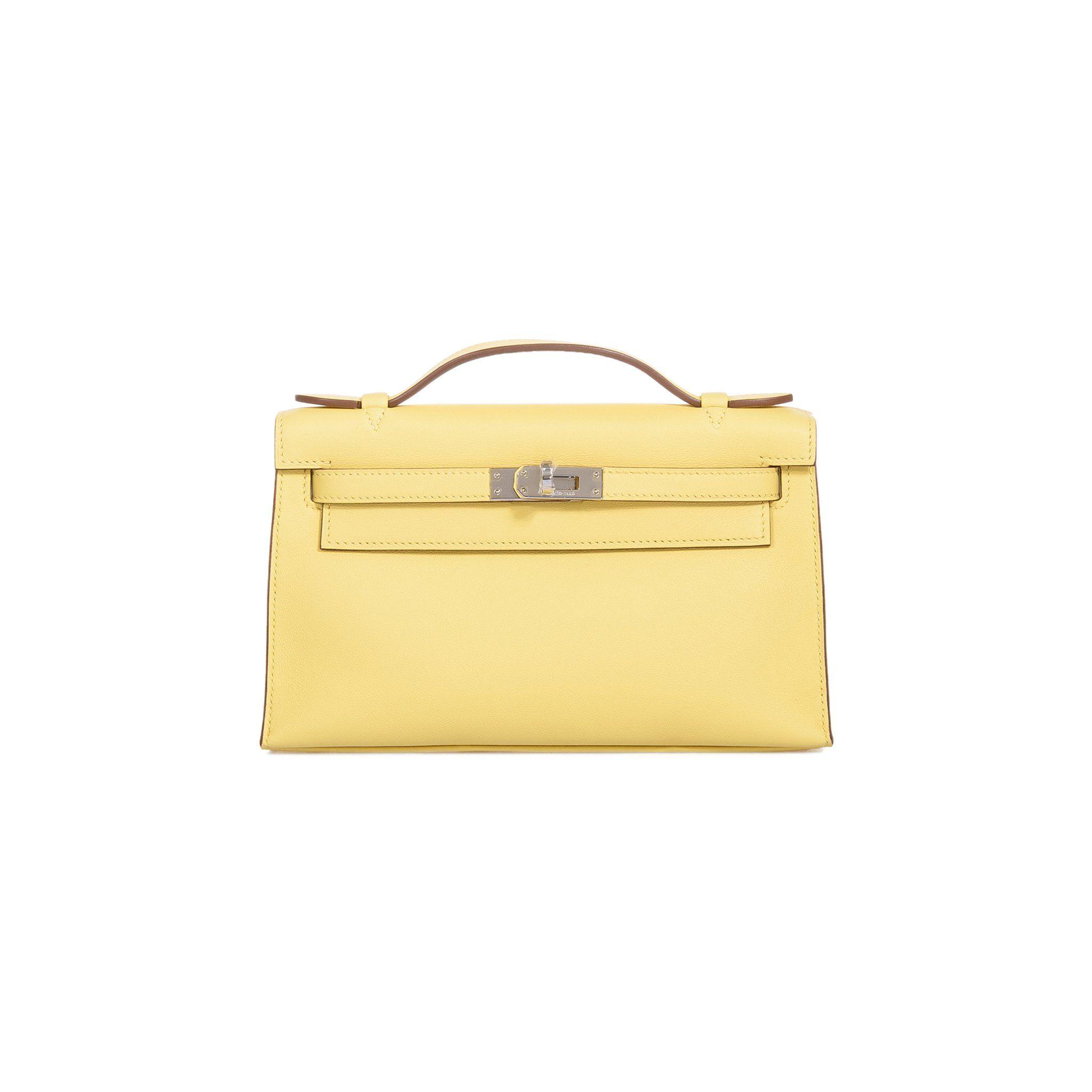 402cec7938 Hermes Mini  Kelly Pochette Etoupe Swift Gold Hardware  Clutch  Bag ...