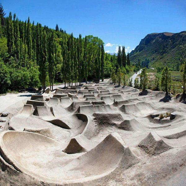 BMX Jump Park Places Spaces