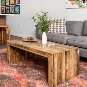 Emmerson Reclaimed Wood Coffee Table Stone Gray Coffee Table Reclaimed Wood Coffee Table Coffee Table Wood