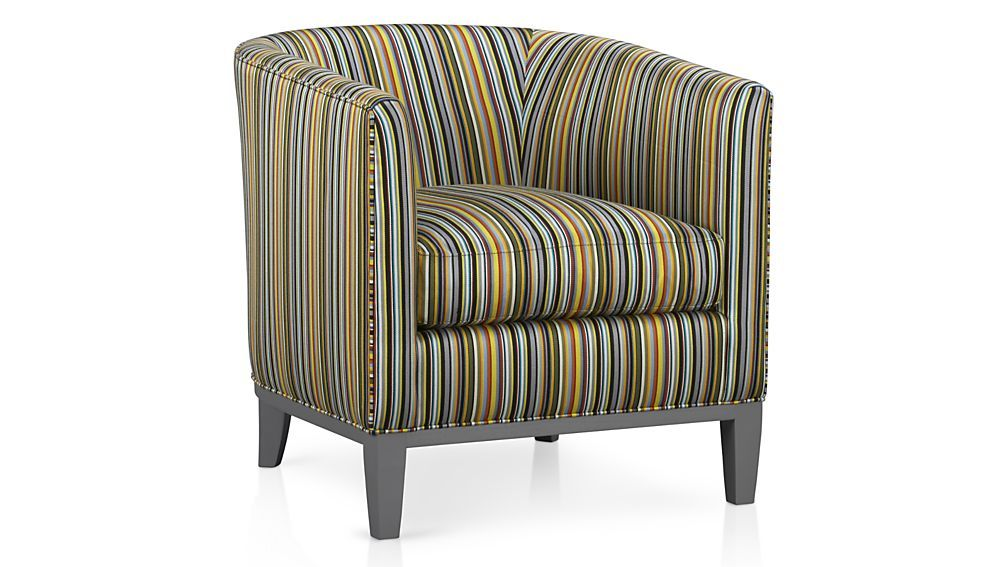 Drew chair crate and barrel chair living room chairs