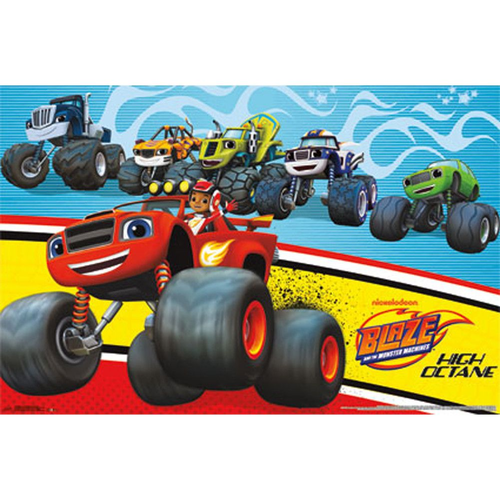 Wall Poster Blaze And The Monster Machines Blaze The