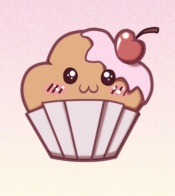 Muffins en dibujos - Imagui | delfi | Pinterest | Kawaii, Muffin y ...
