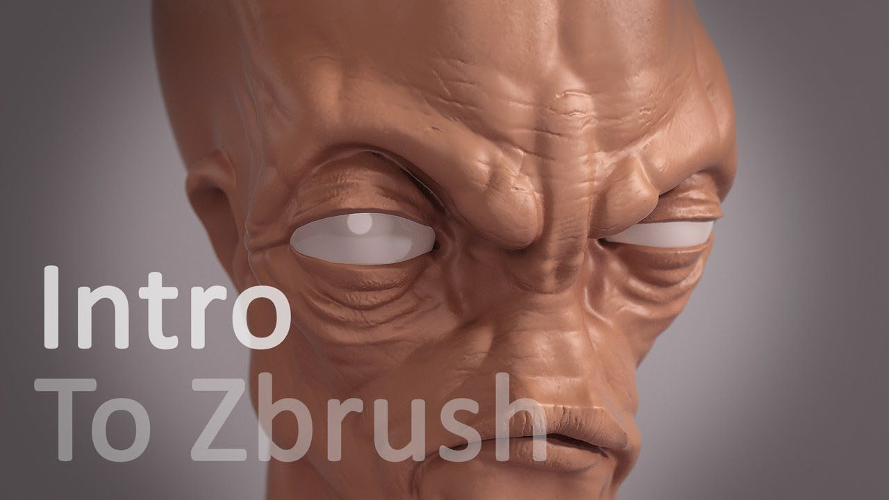 Zbrush Lesson : Intro to sculpting with Zbrush