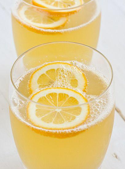 Sparkling Meyer Lemonade