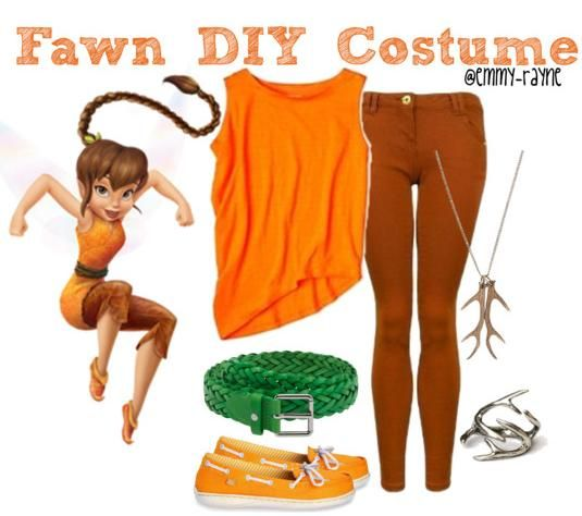 Fawn DIY Costume - Disney Fairies ...for giovi she always wanted to be her  sc 1 st  Pinterest & Fawn DIY Costume - Disney Fairies ...for giovi she always wanted to ...