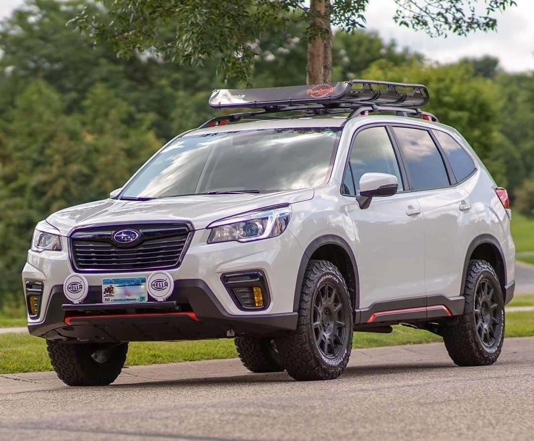 Even Grocery Runs Are Fun In Lifted 2019 Subaru Forester Sport Offroadium Com Subaru Forester Subaru Lifted Subaru