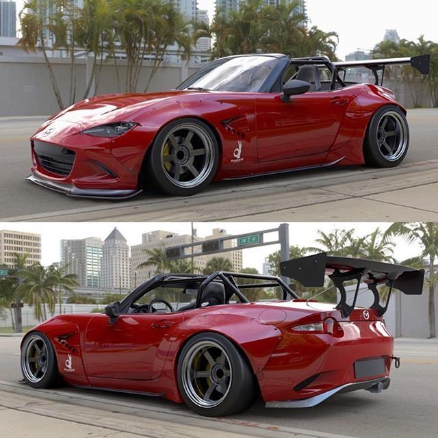 Nice New Race Ready Mazda Miata (ND) Body Kit.