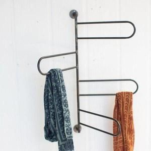 Rotating Hanging Rack Towel Bar Wall Towel Racks Hanging Racks Towel Rack
