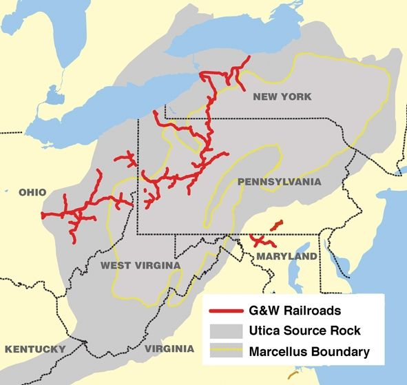 genesee  u0026 wyoming railroad presence in the marcellus