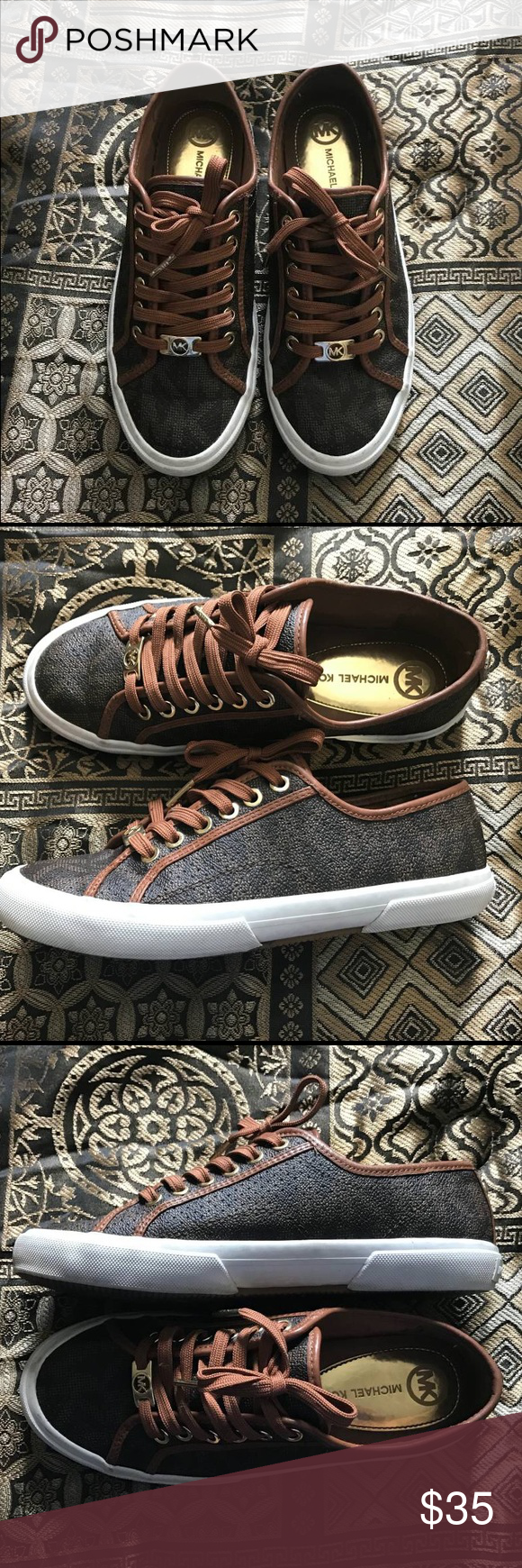 Michael Kors Shoes 👠 !!! Almost new very clean they are size 8 💯 KORS Michael Kors Shoes Sneakers