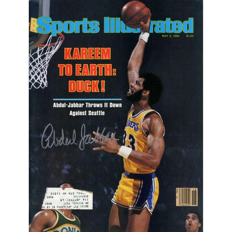 Kareem AbdulJabbar Los Angeles Lakers Fanatics Authentic