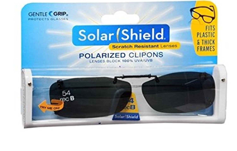 507d02ae75 Solar Shield Fits Over Rimless Clip-On Sunglasses REC B 54 BLACK ...
