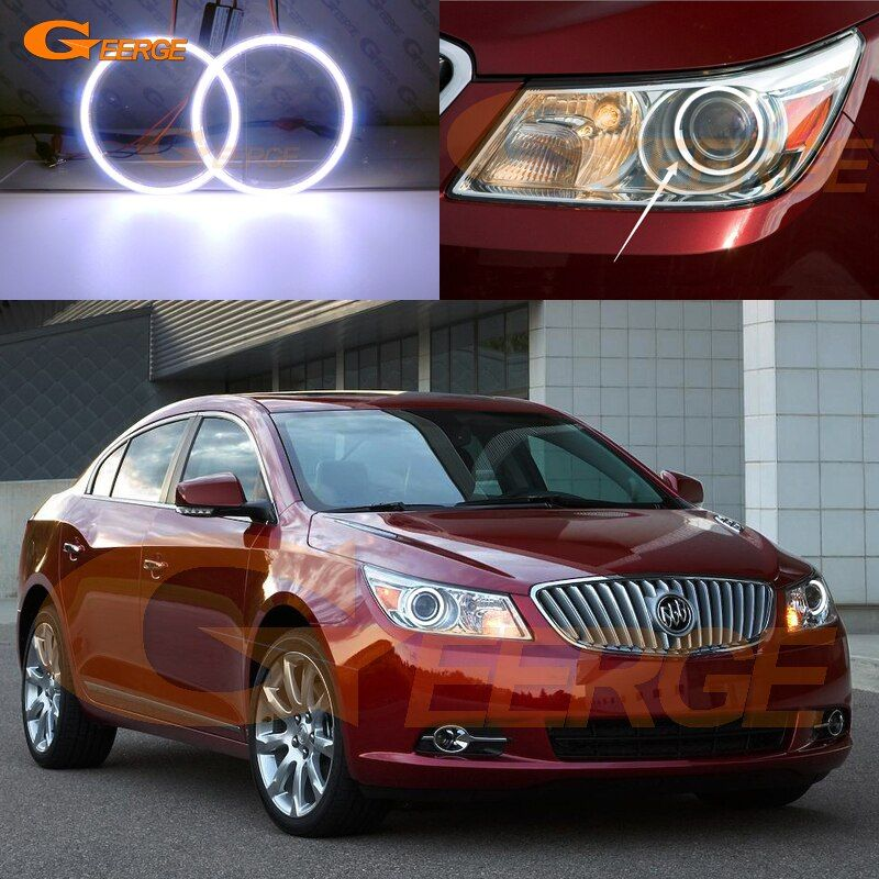 Cheap Led Angel Buy Quality Led Angel Eyes Directly From China Xenon Headlight Suppliers For Buick Lacrosse 2010 2 Buick Lacrosse Car Lights Xenon Headlights
