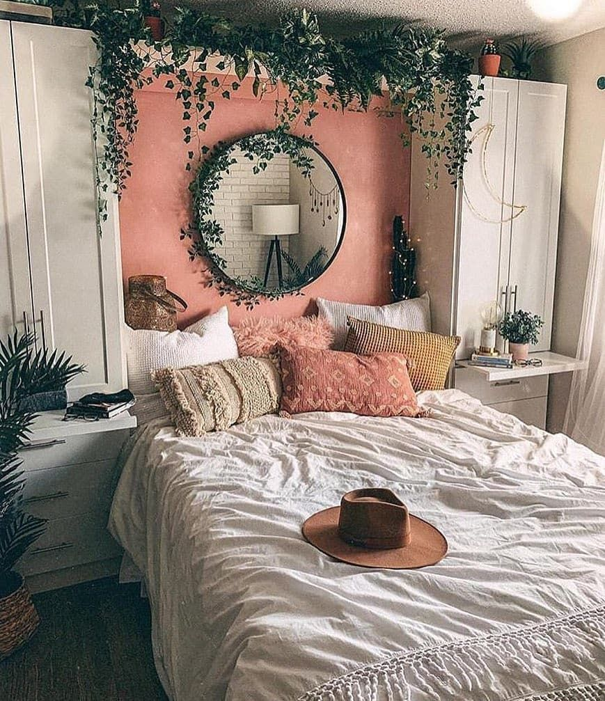 olivra homedecor #homedecor Olivra Homedecor on Instagram: Bedroom plant style! Tag a Friend to share some inspiration us olivra.homedecor us olivra.homedecor