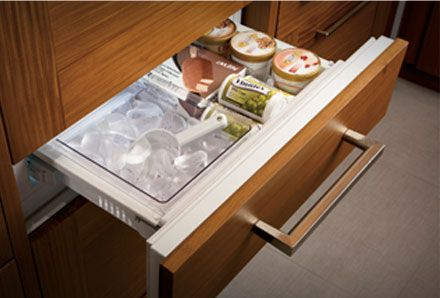 Ice Maker Ice Maker Drawer How Cool Is That Perfect For