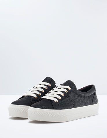 Bershka Tunisia Shoes Shoes Girl Platform Sneakers Sneakers Girls Shoes