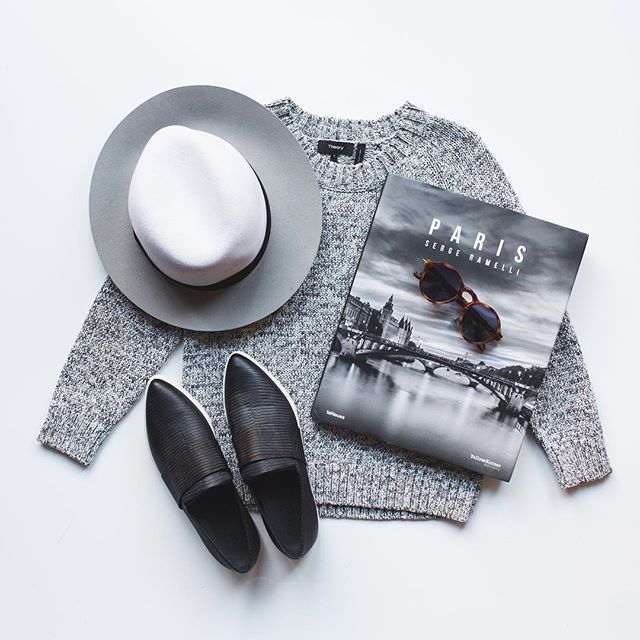 f9577bd31313 Gray is the new black.   As Seen On Instagram   Fashion, Flats ...