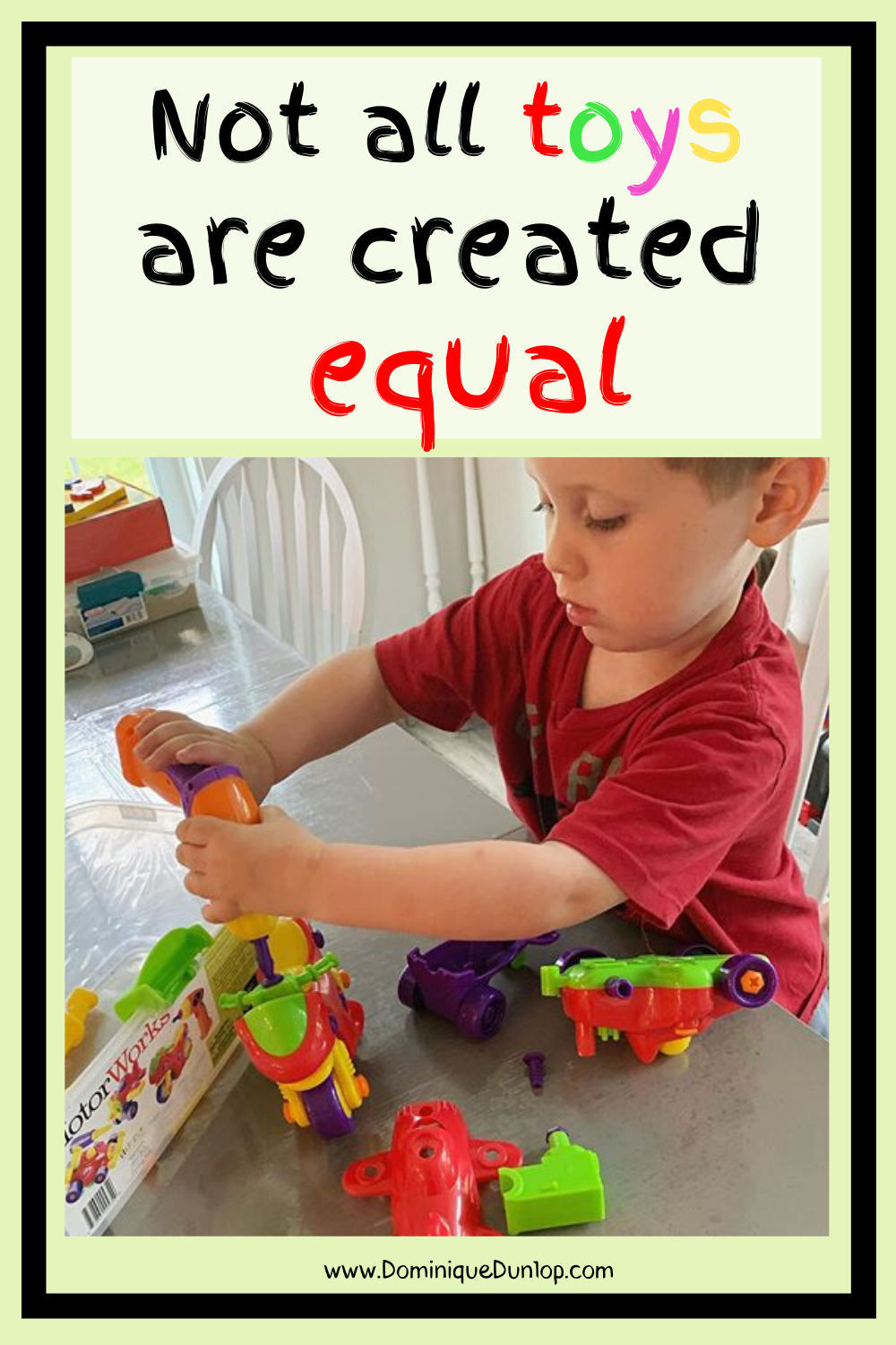 Not All Toys Are Created Equal! in 2020 | Teaching toy ...
