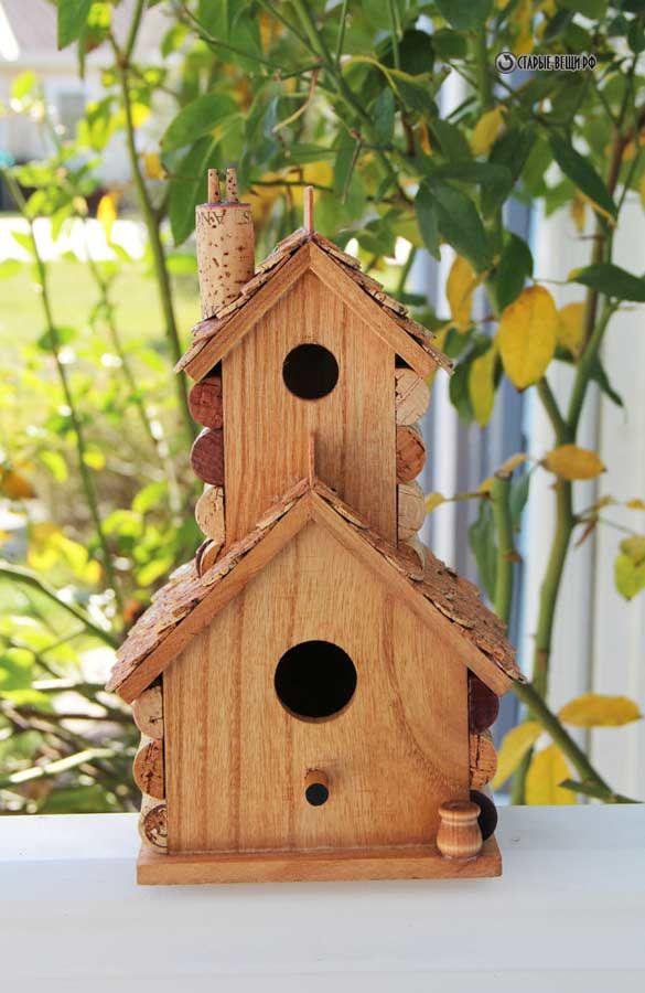 домик для птиц своими руками фото новым