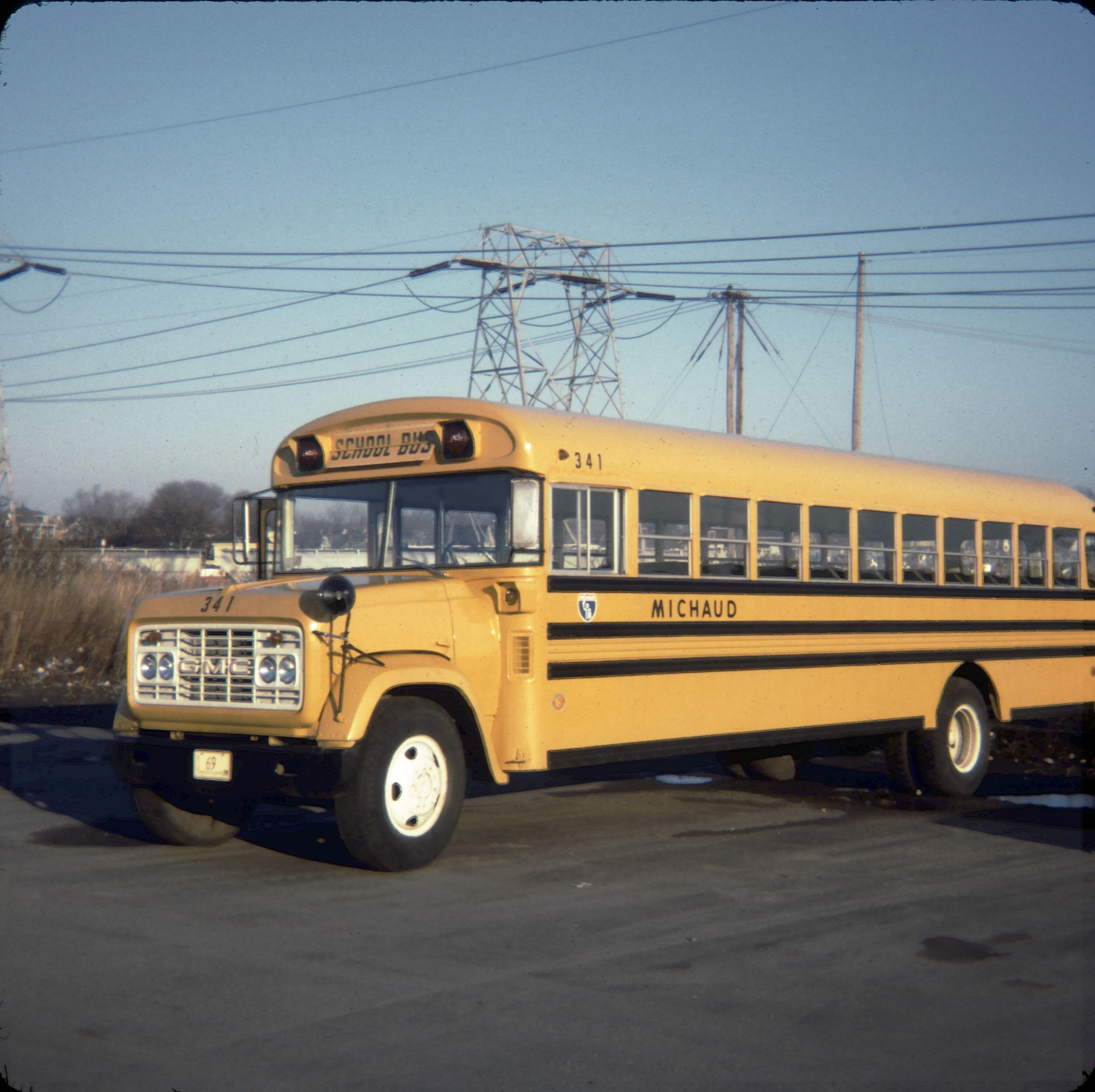 One Of Our School Buses A Gmc I Loved The White Grill And