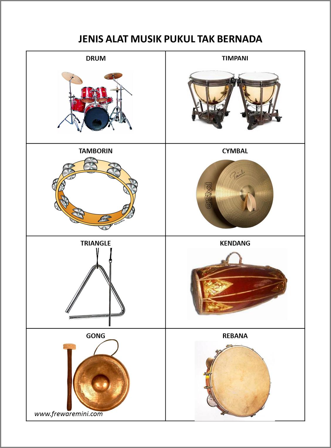 72 Gambar Alat Musik Pukul Kekinian