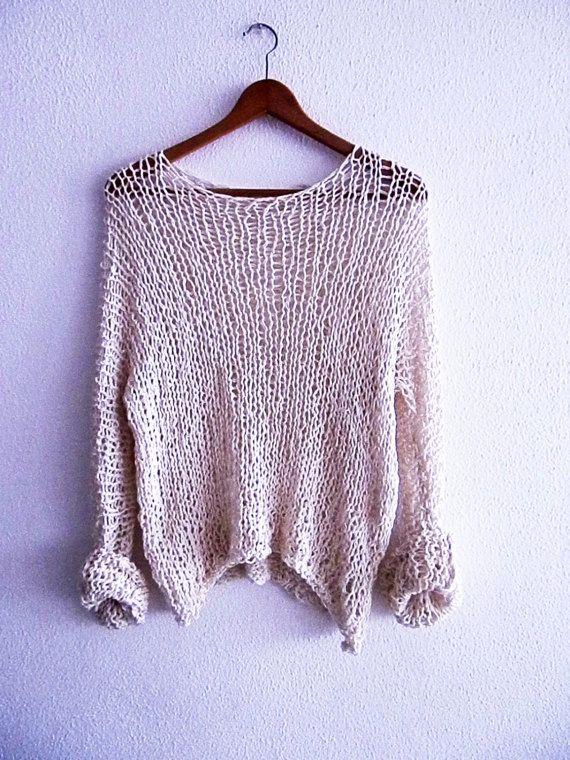 Jersey de algodon por armarioenruinas en Etsy