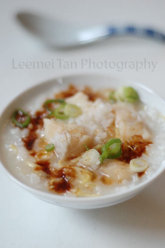Fish congee fish food and asian for Rice recipes for fish
