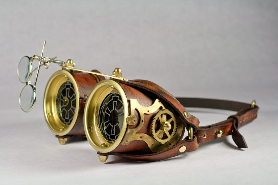 Steampunk Goggles by ~asdemeladen on deviantART