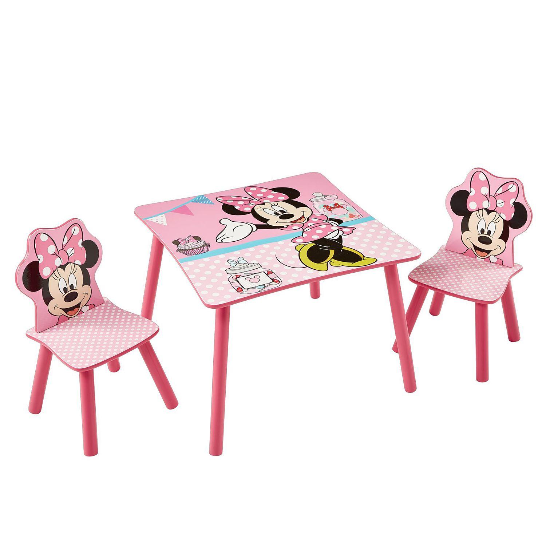 Kindersitzgruppe Minnie Mouse (3 teilig) in 2019 | Stühle