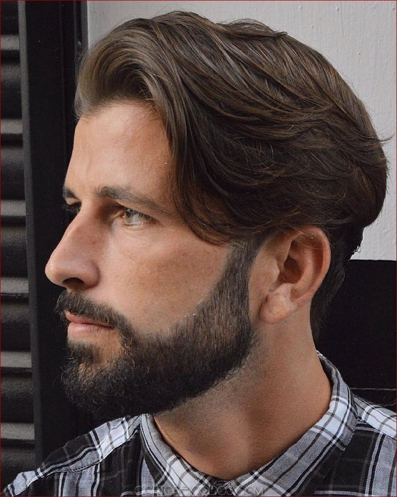 16 Largo Peinado Para Hombres Para Lucir Elegante Y Moderno Elegante Hombres Largo Lucir Mode Long Hair Styles Men Haircuts For Men New Long Hairstyles