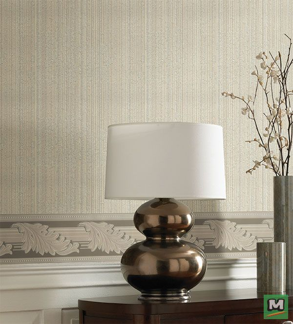 Add A New Dimension To Your Walls With This Textured Stria Stripe Pattern In An Olive Green This Sidewall Is Traditional Wallpaper Home Decor Stripes Pattern