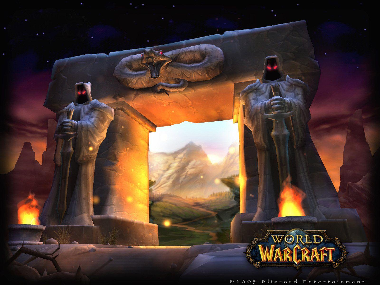 Gate Wallpaper 1600x1200 World Of Warcraft Vanilla World Of Warcraft Warcraft