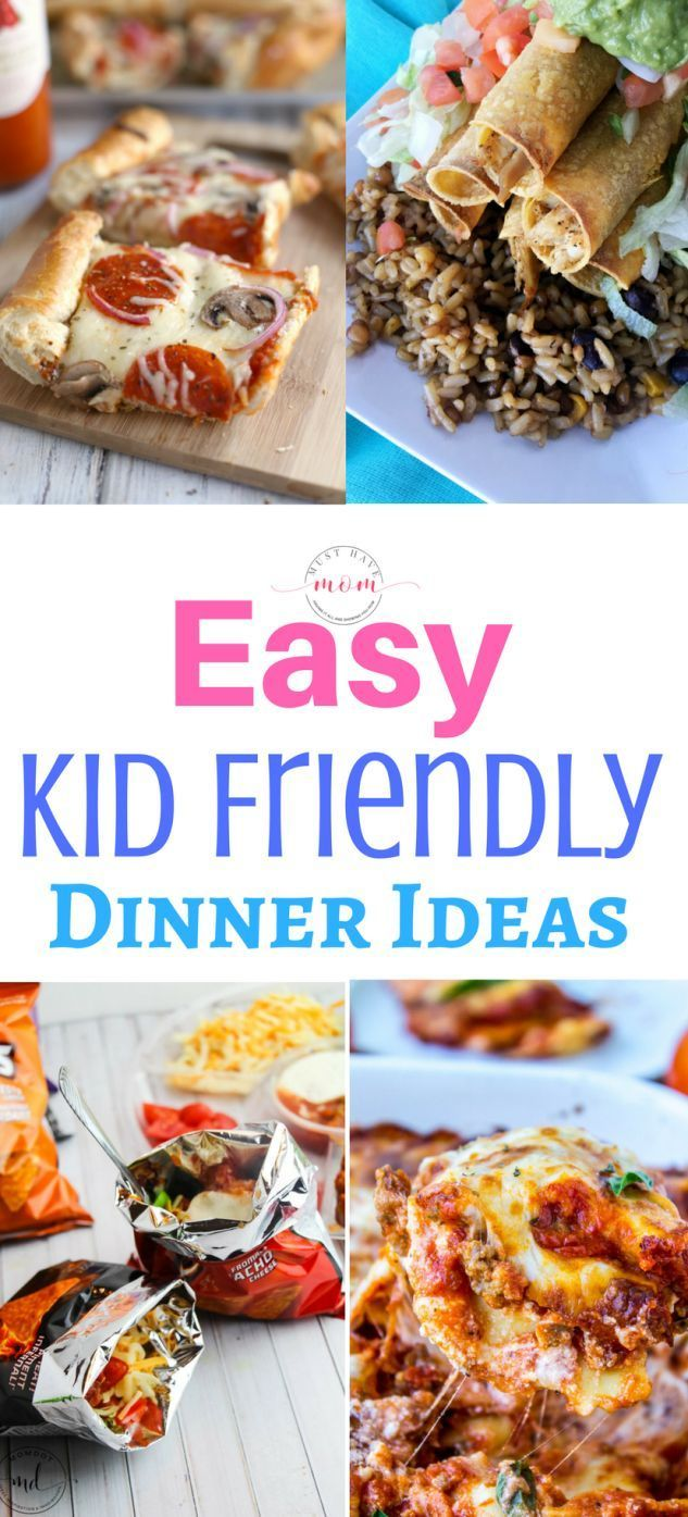 Easy Kid Friendly Dinner Recipes images