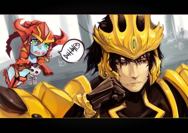 League of Legends - Shyvana and Jarvan IV!