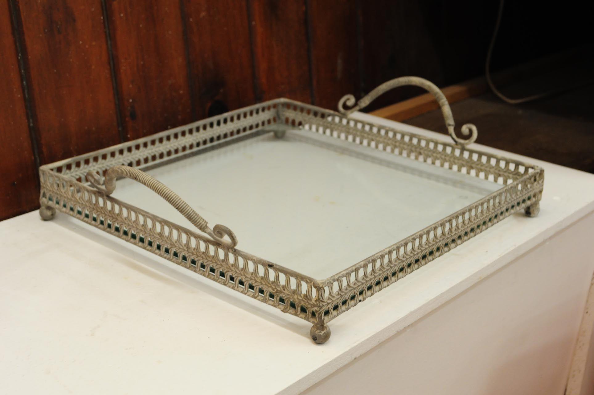 Glass bottom tray, £39.95.  Charlie6.
