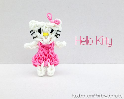 Official Hello Kitty Loom Bands /& Charms