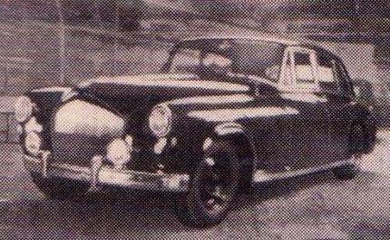 1949 Four-door Saloon Farnham by Abbott (chassis 8BVII)