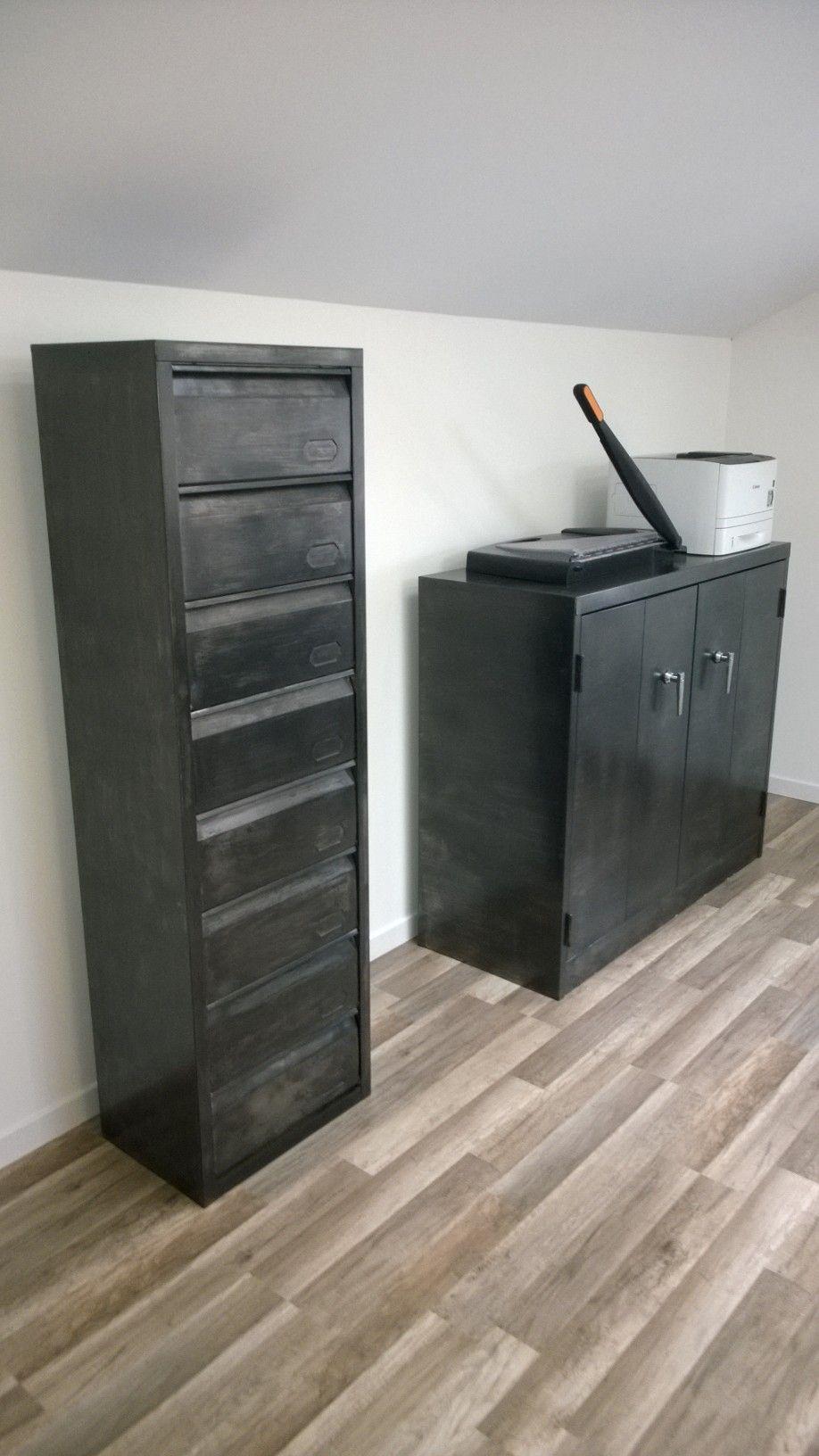 Meuble m tallique clapets meubles clapets industriels for Muebles de oficina roneo