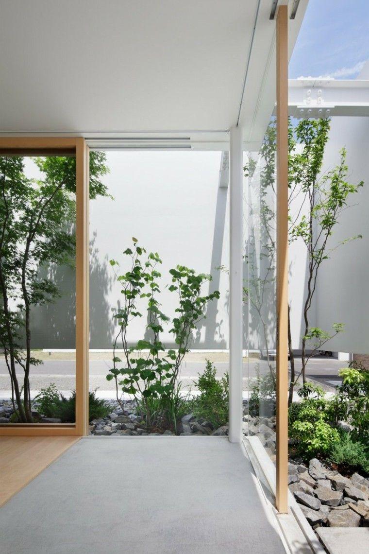 Patio interior cincuenta ideas modernas para decorarlo - Decoracion patios pequenos modernos ...
