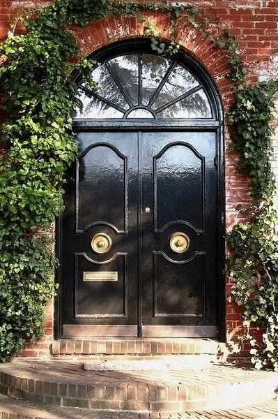 Center door knobs | For the Home | Pinterest | Door knobs, Doors and ...