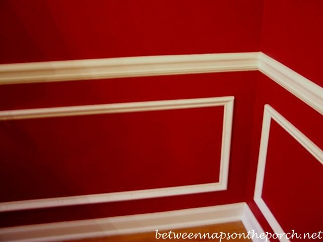 Amazing Adding A Chair Rail Part - 9: Add Picture Molding Wainscoting Under Chair Rail In Dining Room