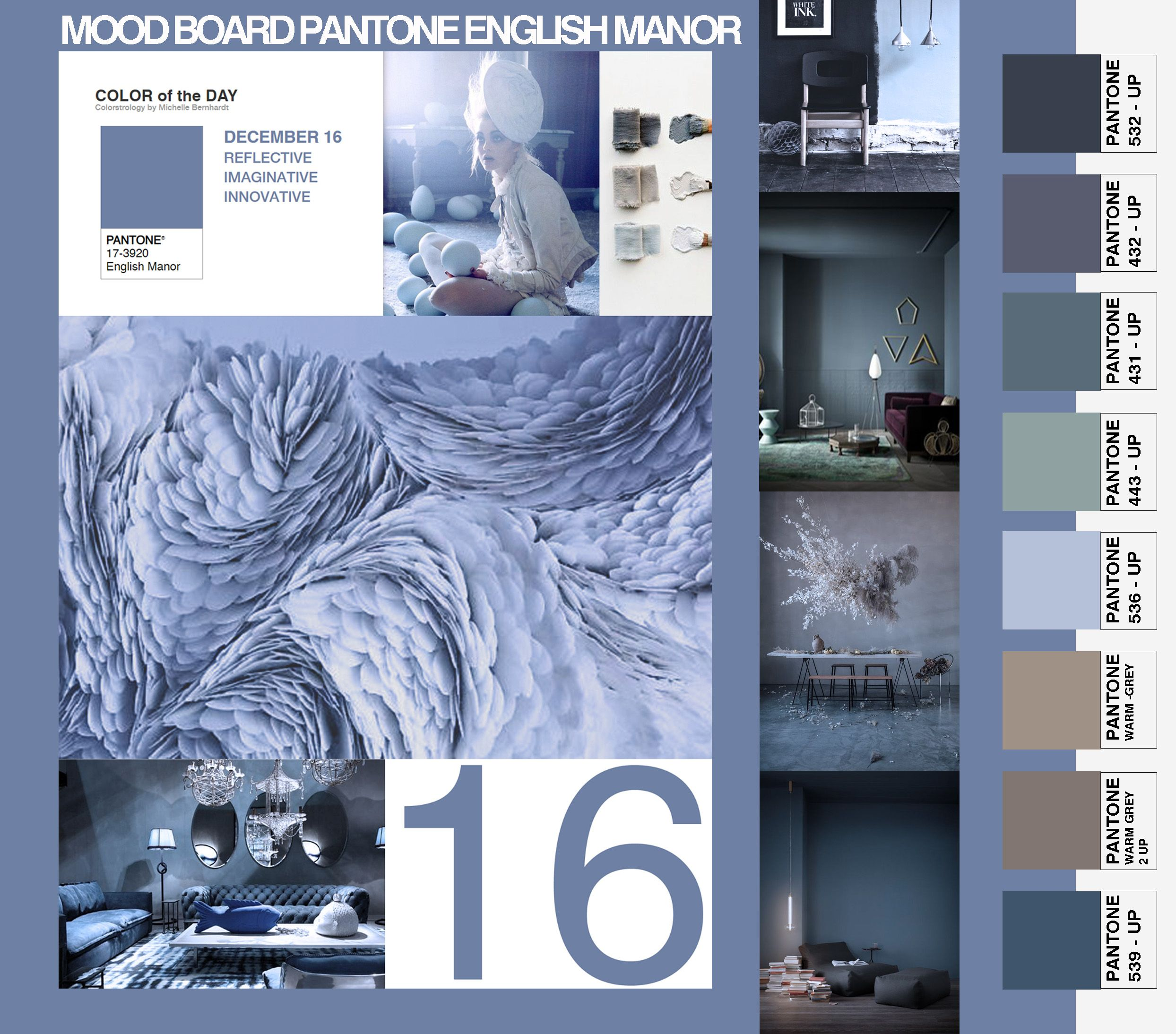 Moodboard Of The Day Color Pantone English Manor